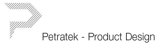 Petratek - Product Design